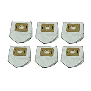 Atrix VACBP6-6P HEPA Backpack Vacuum Filters 6 pack