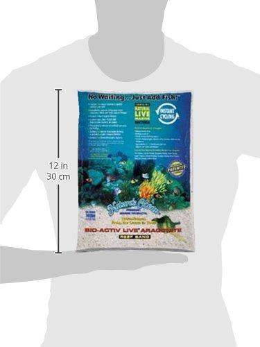 Worldwide Imports AWWA20701 4-Piece Live Aragonite Sand for Aquarium Decor, 10-Pound 2
