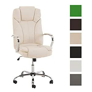 CLP Comfortable XXL Heavy Duty Office Chair XANTHOS Top Quality Upholstery