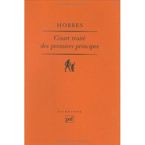 Court traité des premiers principes : Le 'Short Tract on First Principles' de 1630-1631