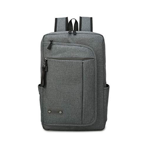 HF morning 15.6 Zoll Laptop Backpack Einfarbig Herren Notebookrucksack Mode Wasserdicht Rucksack Groß Business Arbeit Laptoptasche Leicht Schultasche
