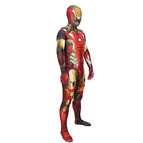 - Schwarz Ironman Kostüm