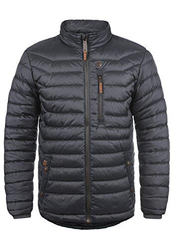 Blend Cemalo Herren Winter Jacke Steppjacke Winterjacke gefüttert mit Stehkragen, Größe:M, Farbe:India Ink (70151)