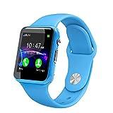 Altsommer IP67 Wasserdichte,Mehreren Sprachen Smartwatch für Kinder, Kinder Smartwatch mit SIM-Anrufe Anti-verlorene Bluetooth Call,Tracker, Kinder Fitness Tracker Armband (Blau)