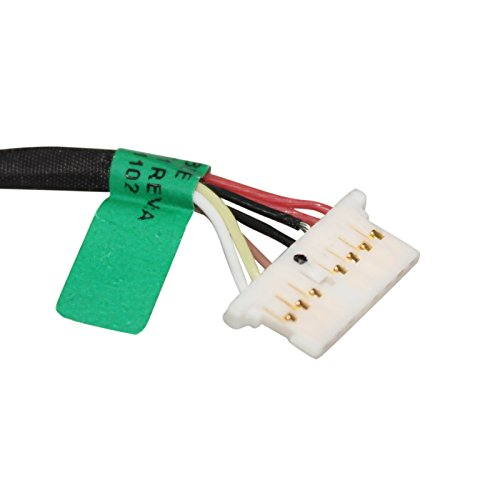 Gintai DC Power Jack Kabel Ersatz für HP Chromebook 11 G5 11-V 15-AW M1-U Series 808155-013 799735-Y51 808155-010 808155-024 809824-001 808155-019 933523-001 924386-001 -
