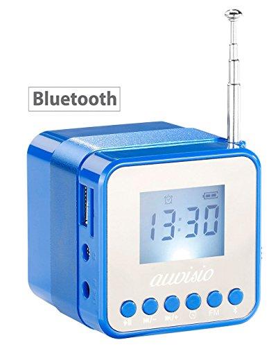 auvisio Würfelradio: Mini-MP3-Station MPS-560.cube mit Radio, Wecker & Bluetooth, 8 Watt (MP3 Lautsprecher)