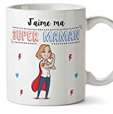 Mugffins Maman Mug/Tasse - Super Maman - Tasse Originale mère/Cadeau Anniversaire fête des mères...
