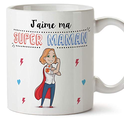 Mugffins Maman Mug/Tasse - Super Maman - Tasse Originale...