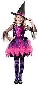Disfraz de Barbie bruja para niñas de 3 a 10 años