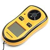 ZYT portatile velocità del vento Misuratori Sport anemometro vento
