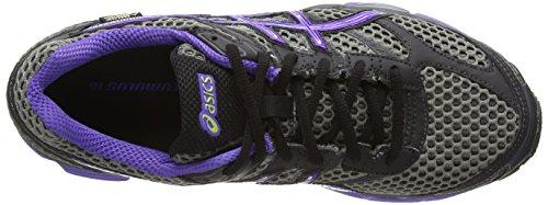 ASICS Gel-Cumulus 16 G-Tx, Chaussures Multisport Outdoor Femmes Carbon/Purple/Lime
