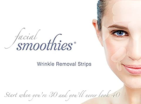 Facial Smoothies Wrinkle Remover Strips - Anti-Wrinkle Patches - Anti-Aging Treatment - Anti Wrinkle