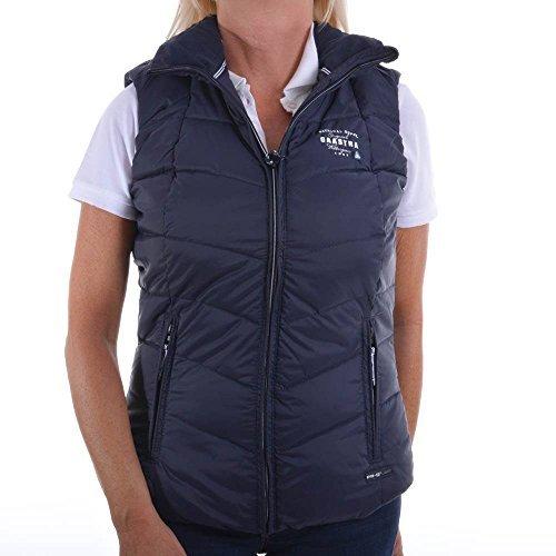 Gaastra luxe rhonda taille xS 140 36191042 510 veste sans manches pour femme bleu marine oues