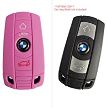 CK + BMW auto de llave Keyless móvil Key Cover Case Funda Silicona para 1er 3, 5, 6, 7, X3, X5