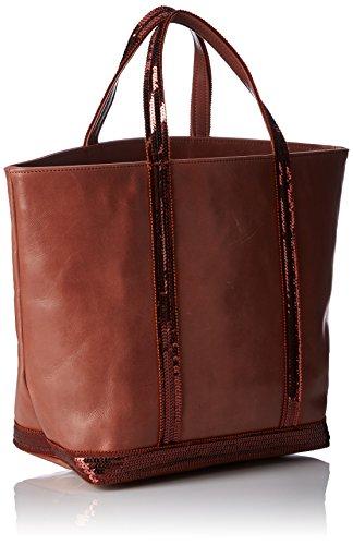 Vanessa Bruno Damen Cabas Moyen 0pvd02-v40413 Einkaufstasche, 16 x 43 x 30 cm Rouge (FIDJI/449)