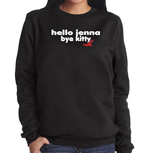 Felpa da Donna Hello Jenna bye kitty