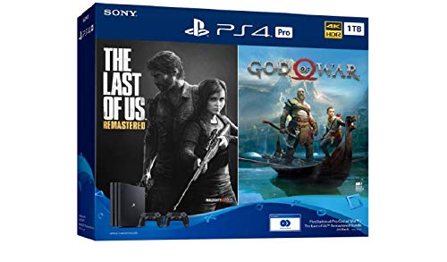 PlayStation 4 Pro 1 TB God of War / The Last of Us Remastered Bundle