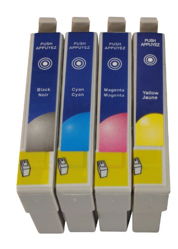 Preisvergleich Produktbild 5 kompatible Druckerpatronen ersetzen Epson T1811, T1812, T1813, T1814, geeignet für EPSON Expression Home XP102 / XP202 / XP205 / XP30 / XP302 / XP305 / XP402 / XP405