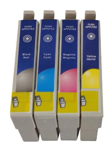 5 kompatible Druckerpatronen ersetzen Epson T1811, T1812, T1813, T1814, geeignet für EPSON Expression Home XP102 / XP202 / XP205 / XP30 / XP302 / XP305 / XP402 / XP405