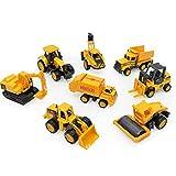 GAO 2 in 1 Lega di Bulldozer del Secchio dell'escavatore di Scivolamento del Bambino del Giocattolo Stabilito dell'automobile di ingegneria della Lega Mini