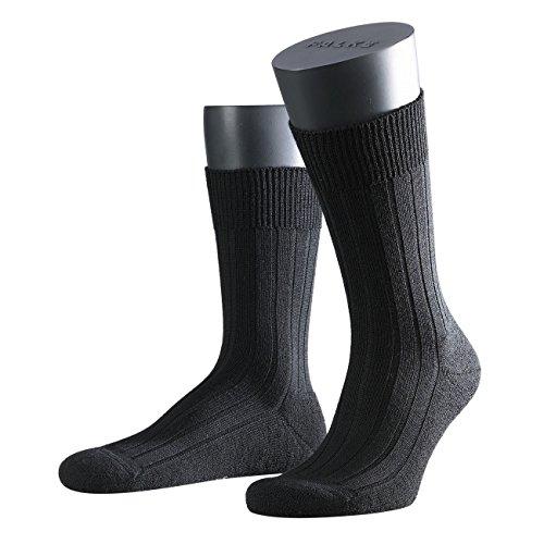 Falke Herren Socken Teppich im Schuh 3er Pack, Größe:41/42;Farbe:black
