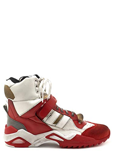 Maison Margiela Luxury Fashion Herren S57WS0262P2083H1154 Rot Hi Top Sneakers | Jahreszeit Permanent