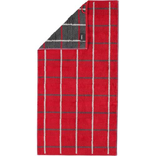 Cawö Frottier-Handtücher Noblesse Square 1079 27 Rot 50 cm x 100 cm