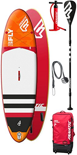 Fanatic 2018 Fly Air Premium SUP 10'8″ X 34″ INC 3 Piec… | 09008415713967