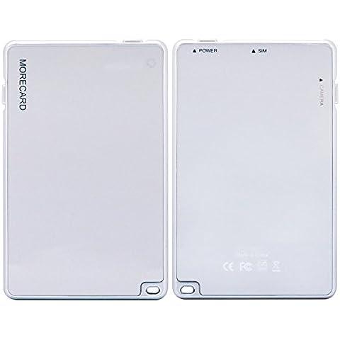 ZXK CO Adaptador Dual SIM para iPhone,Bluetooth 4.0 Doble Tarjeta SIM / Anti-perdida / Función de Alarma /Función de Obturación / Cámara de Control Remoto /para el iPhone SE / 6 / 6s / 7 /7 plus / 5 / 5s / 5c iPad Pro/iPad 3 4 Air Air2 iPad Mini/ Mini2 / 3 / 4 iPod Touch 5/6 -MoreCard APP Realiza Doble Tarjeta de SIM en