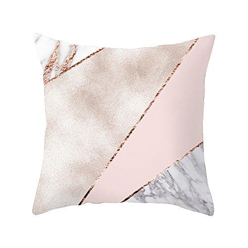 TianWlio Kissenbezug Zierkissenbezüge Deko Dekorative Geometrische Marmor Textur Wurfkissenbezug Kissenbezug Sofa Home Decor -