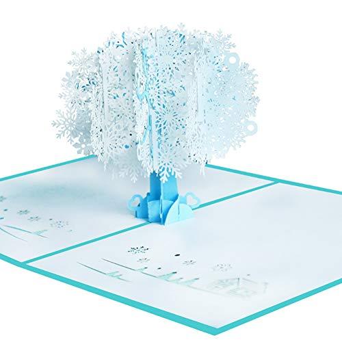 (display08 Handgefertigte 3D Pop Up Schneewittchen Grußkarte Papier Basteln Festival Geschenk multi)
