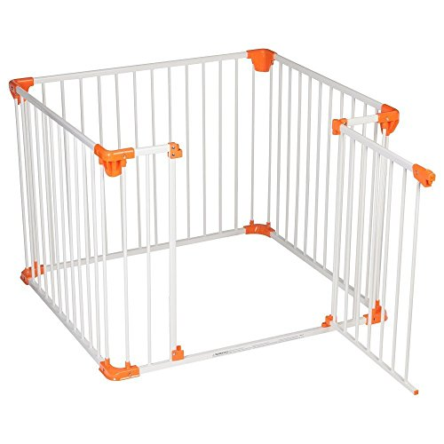 Safetots  Simply Safe Playpen (White With Orange)