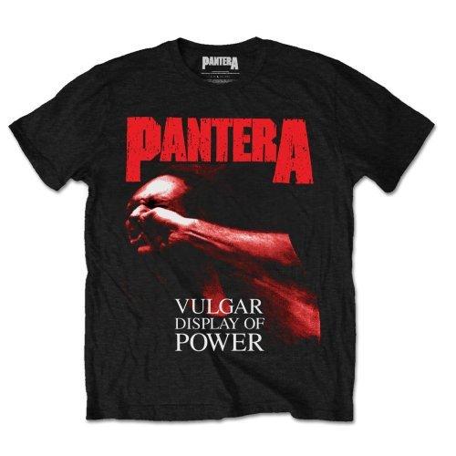 Pantera Music T-shirt (Unknown Herren T-Shirt Gr. Medium, Schwarz - Schwarz)