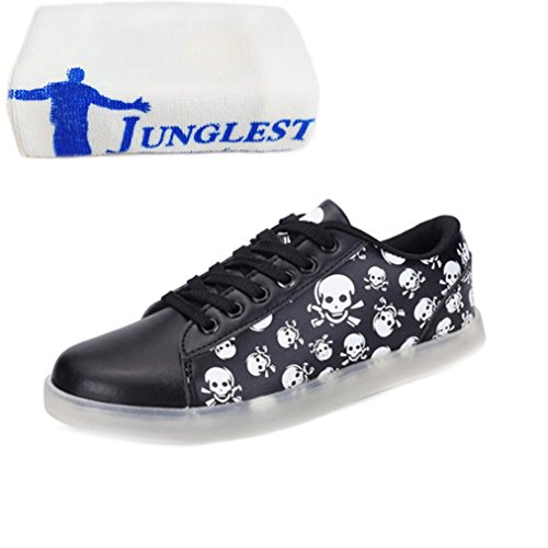 Leuchtend Schwarz Freizeitschuhe Schuhe Farbe kleines Laufschuhe Mode junglest® Fü present Nacht Handtuch Outdoorschuhe Sportschuhe Sneaker Licht FZBApYn
