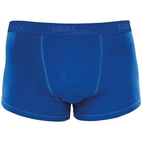 Asquith & Fox - Boxer da Uomo (confezione da 2) Blu reale