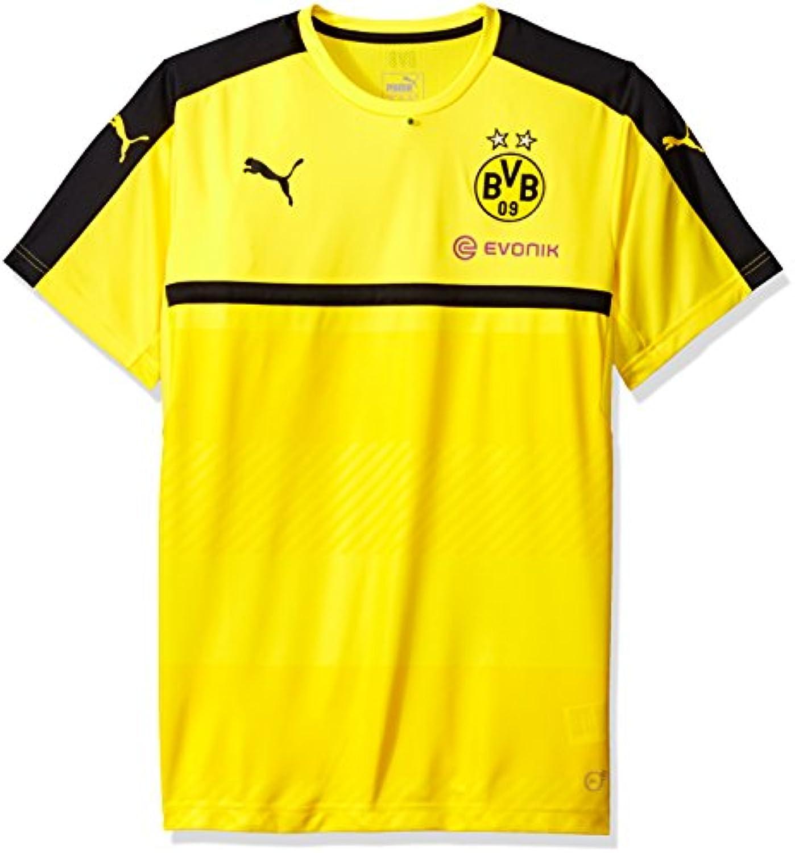 Puma Men's BVB Training Jersey With Sponsor