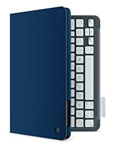 Logitech Keyboard Folio for iPad Mini (deutsches Tastaturlayout, QWERTZ) mystic blau