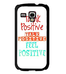 Fuson 2D Printed Quotes Designer back case cover for Samsung Galaxy S3 Mini - D4532