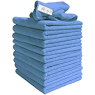 Exel Supercloth Medium Duty Microfibre Cloth ideal for Home, Car or Garden Pack of 10 Cloths