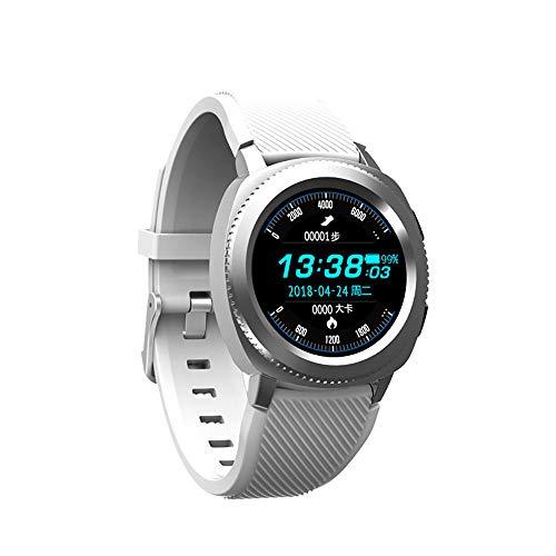 Smart Watch, Bluetooth Intelligente Armbanduhr Fitness-Tracker Uhr Sportuhr mit IP68 Wasserdicht Herzfrequenz Blutdruckmessung Blutsauerstoff Monitor Schrittzähler