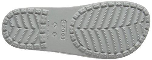 crocs Damen Sloanegrphsld Pantoffeln Blau (Blue/Floral)