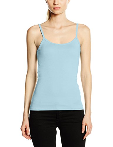 Fruit of the Loom Damen T-Shirt Ss089m, X-Small Sky Blue