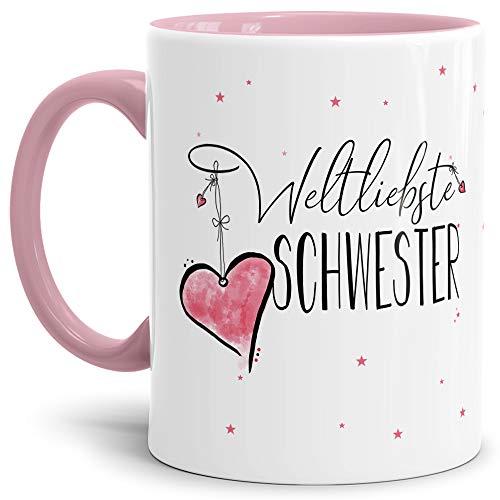 Liebe Weil ich dich Lieb hab  NEU Kaffeetasse Kaffeebecher Tasse Freundschaft