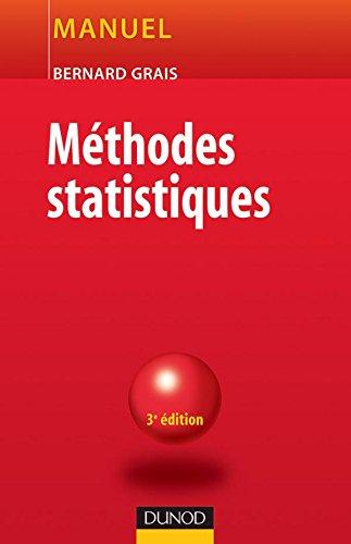 Méthodes statistiques