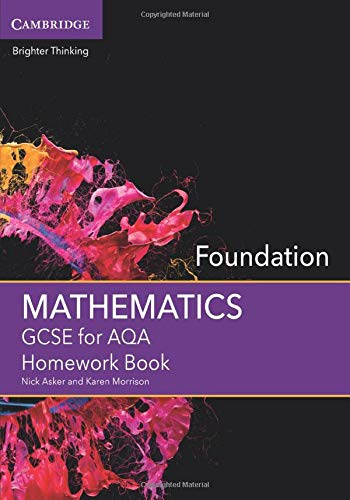 GCSE Mathematics for AQA Foundation Homework Book (GCSE Mathematics AQA)
