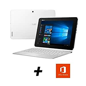asus transformer book blanc pc convertible tablette t100ha fu007t high tech. Black Bedroom Furniture Sets. Home Design Ideas