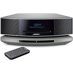 Bose Wave Music SystemSoundTouch IV avec tous les appareils avec Amazon Alexa intégré - Argent Platine