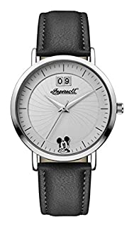 Ingersoll Orologio Disney Display Analogico Quarzo da Donna con Cinturino PU Nero e Quadrante Bianco ID00501 (B01JOZAD9E) | Amazon Products