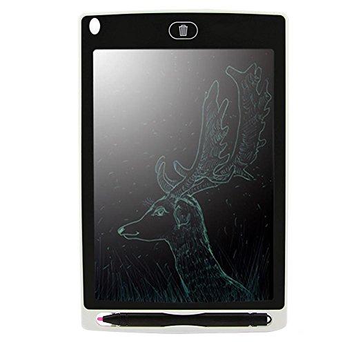 Preisvergleich Produktbild Asiproper LCD Writing Tablet LCD E-Writing Board Tablet Handschrift E-Paper Notizblock mit Magnet (weiß)