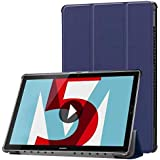 For Huawei MediaPad M5 10.8 Holster Flip PU Leather Smart Stand Case